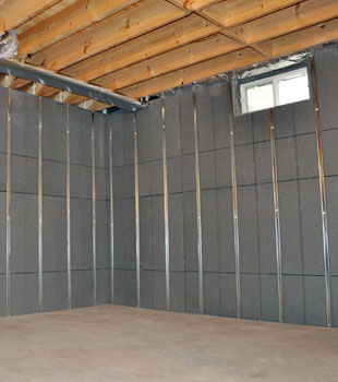 insulated basement wall panels inorganic basement wall insulation