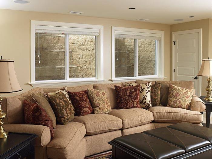 Replacement basement windows comparison best options for for Bedroom egress window