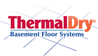 ThermalDry® basement flooring